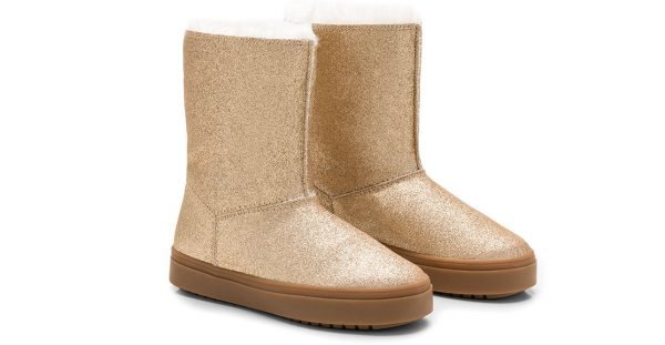 Winter Boot Gold