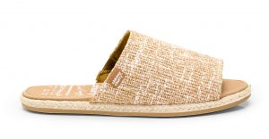 Sandal Slide Rustic Jute