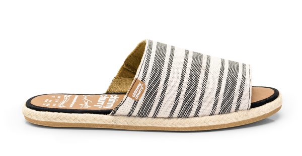 Sandal Slide Rustic Stripes